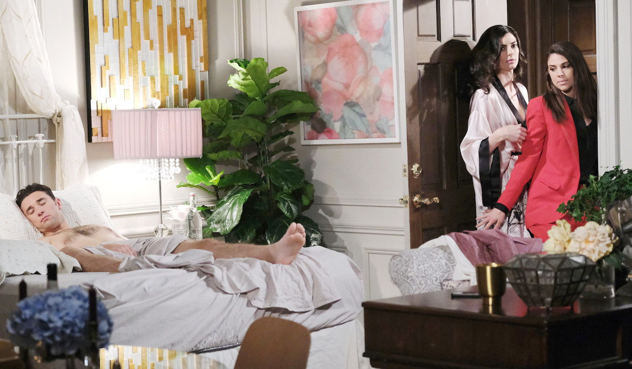 Abby finds Chad in Juliette's bed on Chad & Abby in Paris
