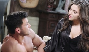 Ben and Ciara bed sex Days of our Lives