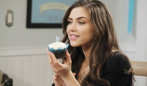 ciara with poison cupcake Days of our Lives