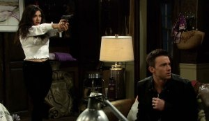 ciara pulls gun on marlena halloween on days of our lives