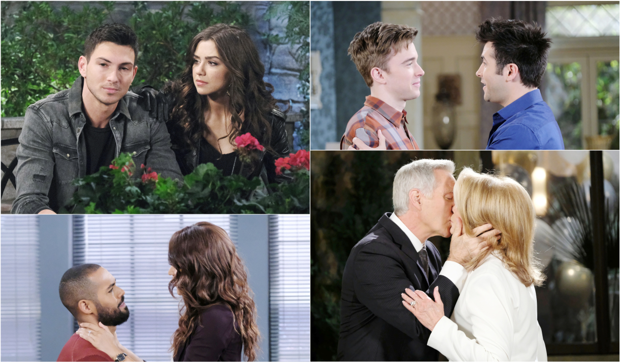 Ben and Ciara, Will and Sonny, Eli and Lani, John and Marlena Days of our Lives