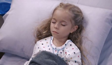 finn's daughter is in hospital on general hospital
