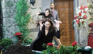 gabi throws lani in hole Days of our Lives