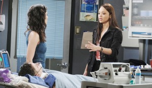gabi and lani with braindead stefan days of our lives