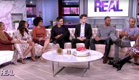 Galen Gering, Lawrence Saint-Victor, Michael Mealor, Donnell Turner on The Real