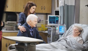 hope doug visit dying julie days of our lives