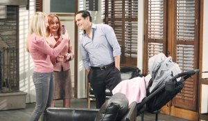 Joss takes photos of Bobbie, Sonny and Donna on General Hospital