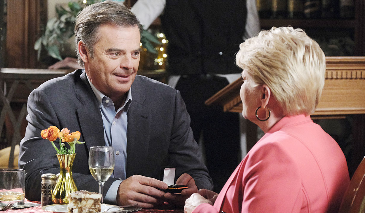 justin proposes adrienne days of our lives