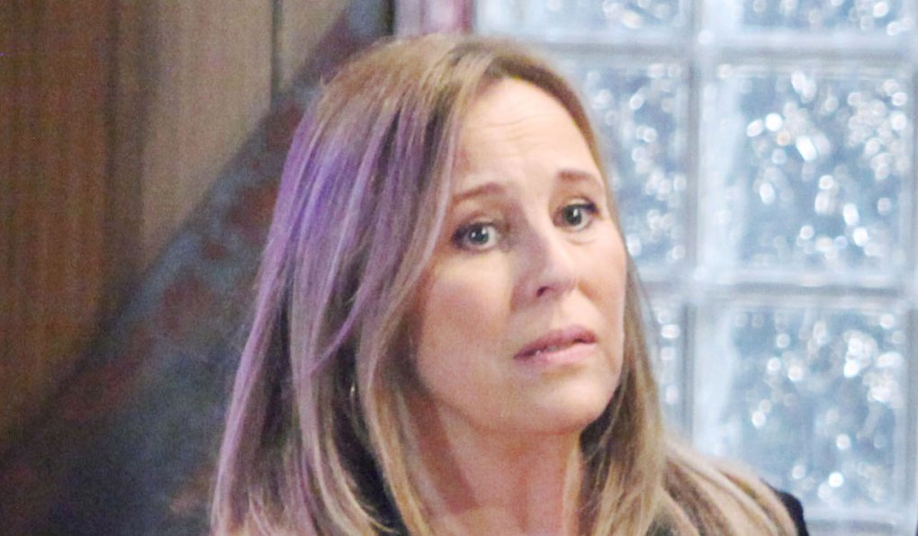 laura has doubts on general hospital