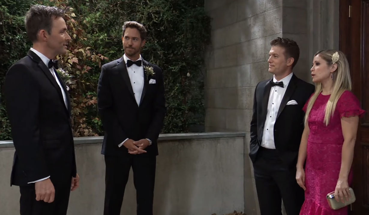 lulu confronts valentin at his wedding on general hospital