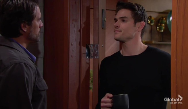 Nick visits Adam The Young and the Restless