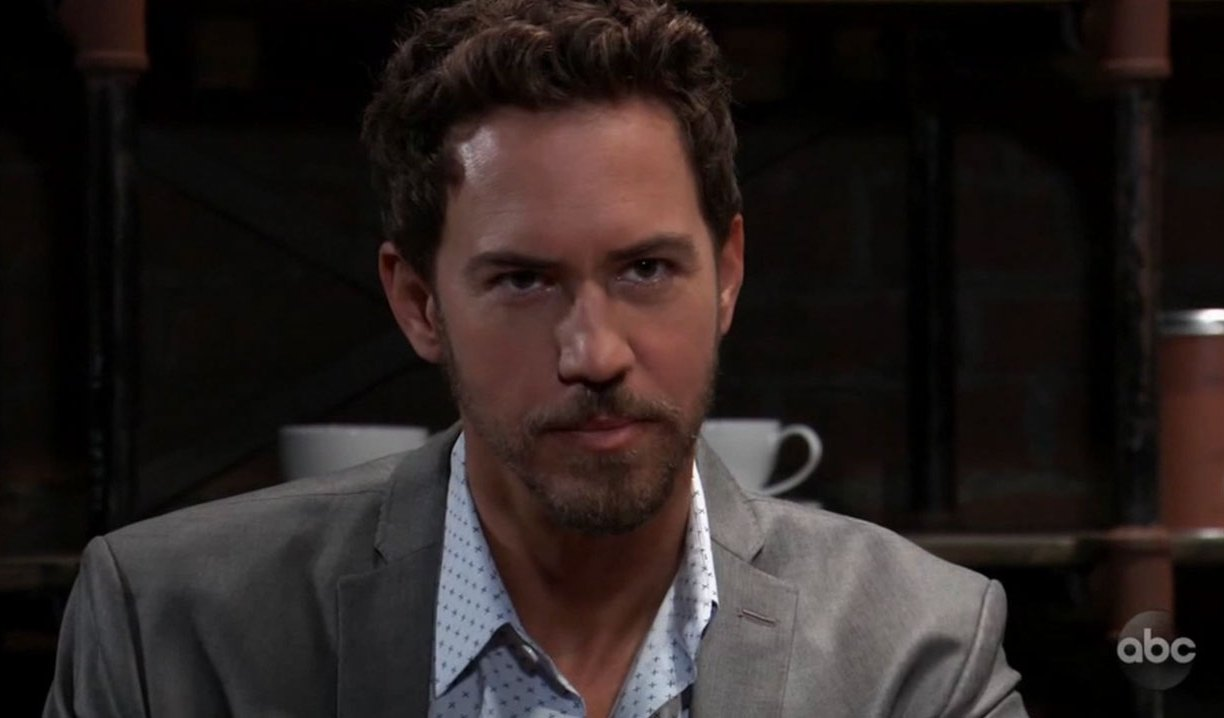 Peter Frames Sam on General Hospital