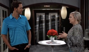 Maxie asks Peter to move in together on General Hospital