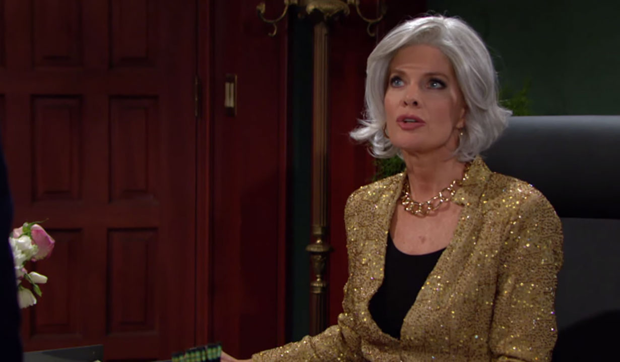 phyllis as sharon's boss Halloween on young and restless