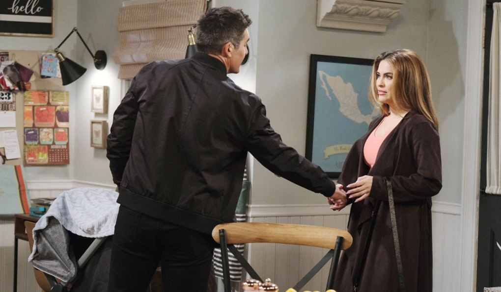 rafe takes jordan's hand on days of our lives