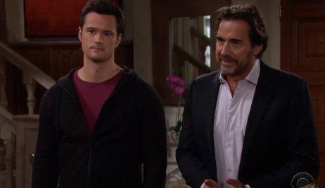 Ridge defends Thomas to the Logans on Bold and Beautiful