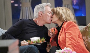 john and marlena eat strawberries and kiss days of our lives