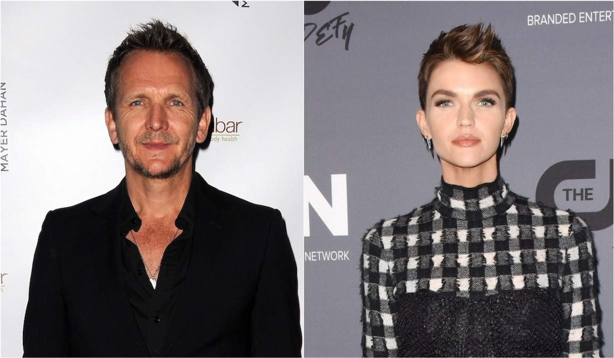 Sebastian Roche and Ruby Rose in Batwoman
