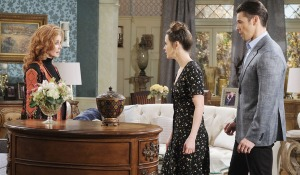 sarah at home with maggie days of our lives