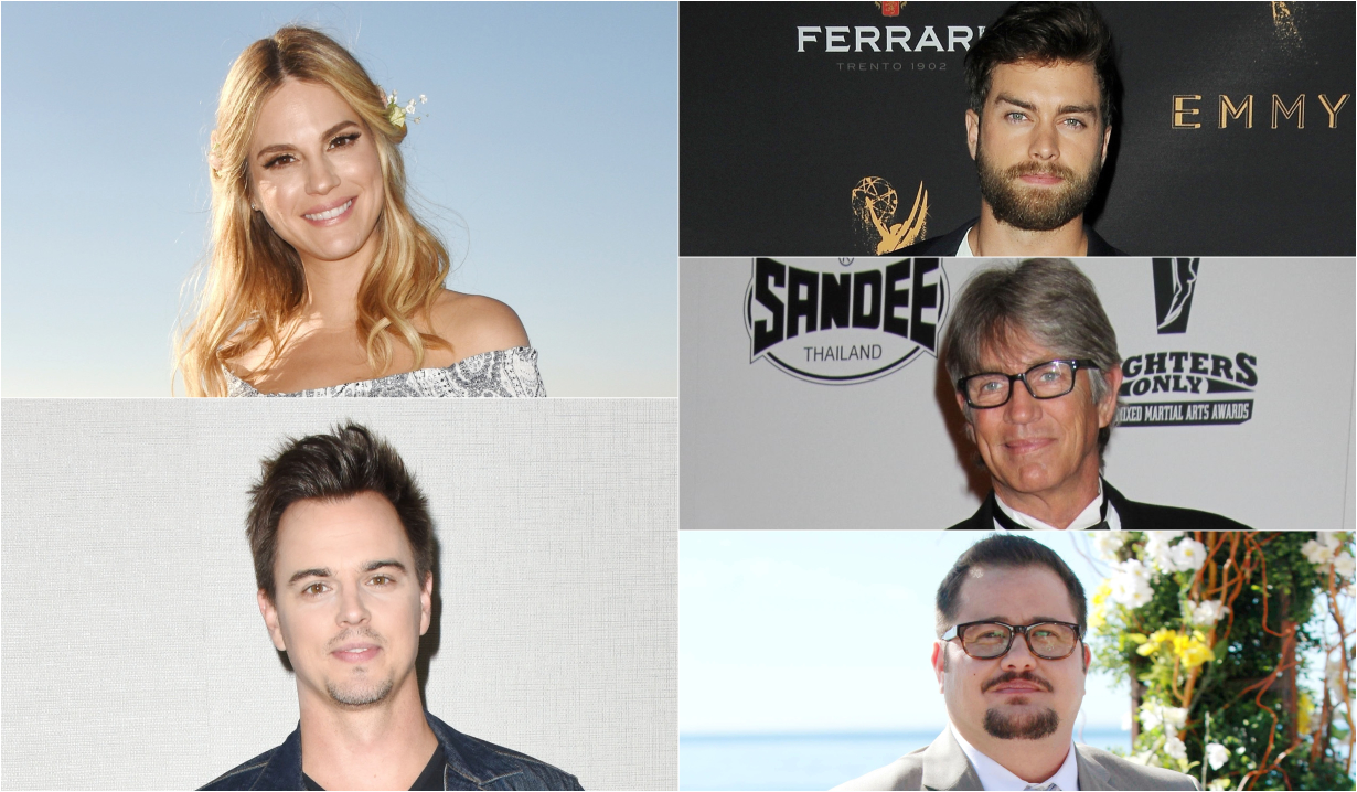 Kelly Kruger, Darin Brooks, Pierson Fode, Eric Roberts & Chaz Bono in Reboot Camp
