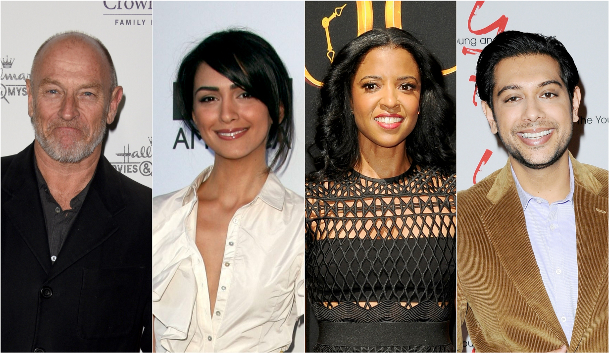 Corbin Bernsen, Nazanin Boniadi, Renee Elise Goldsberry, Abhi Sinha in primetime and movies