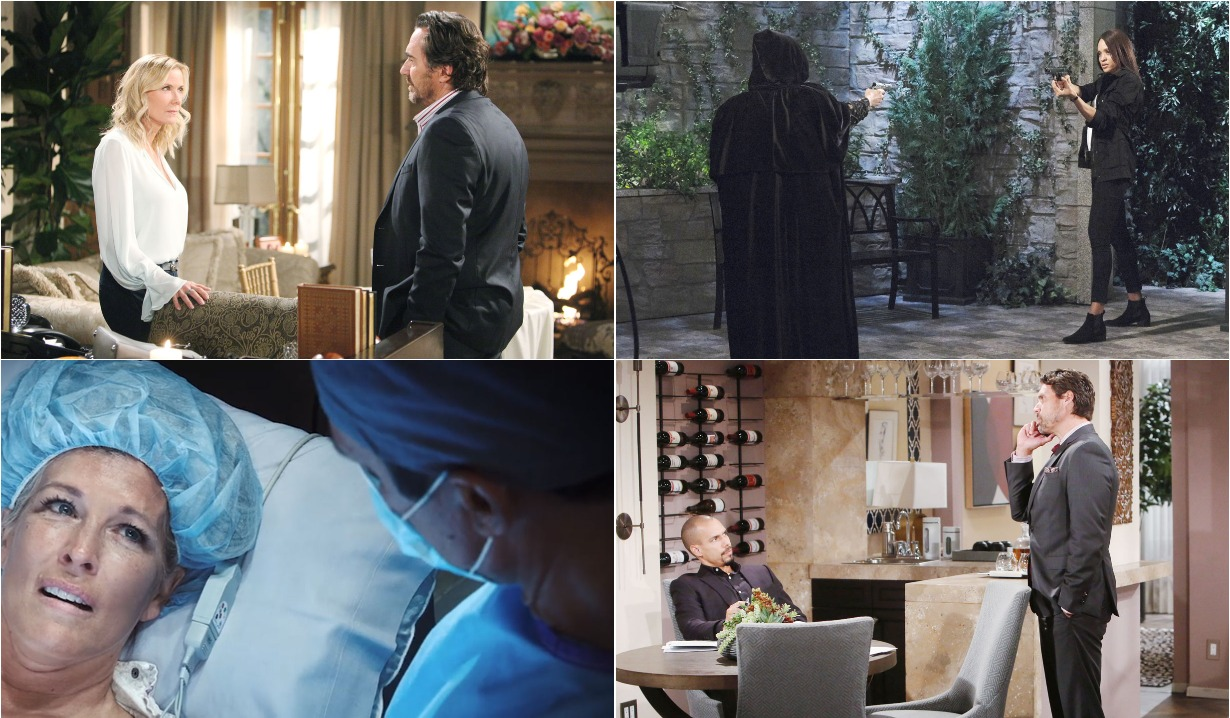 bold and beautiful days of our lives general hospital young and the restless roundup October 7