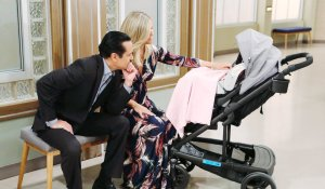 Sonny, Carly and Donna at General Hospital