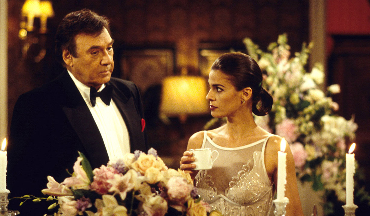 stefano with princess gina 90s days of our lives