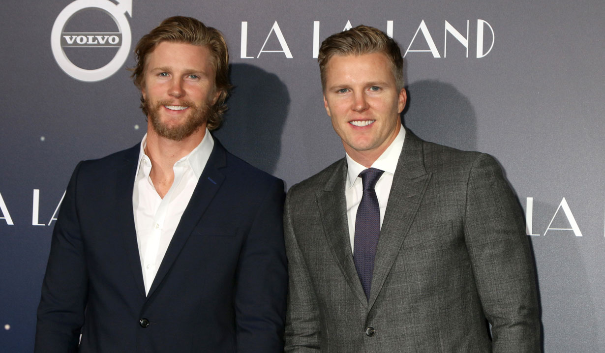 Thad Luckinbill and Thad Luckinbill producing Devotion