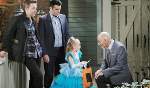 ari trick or treats Days of our Lives