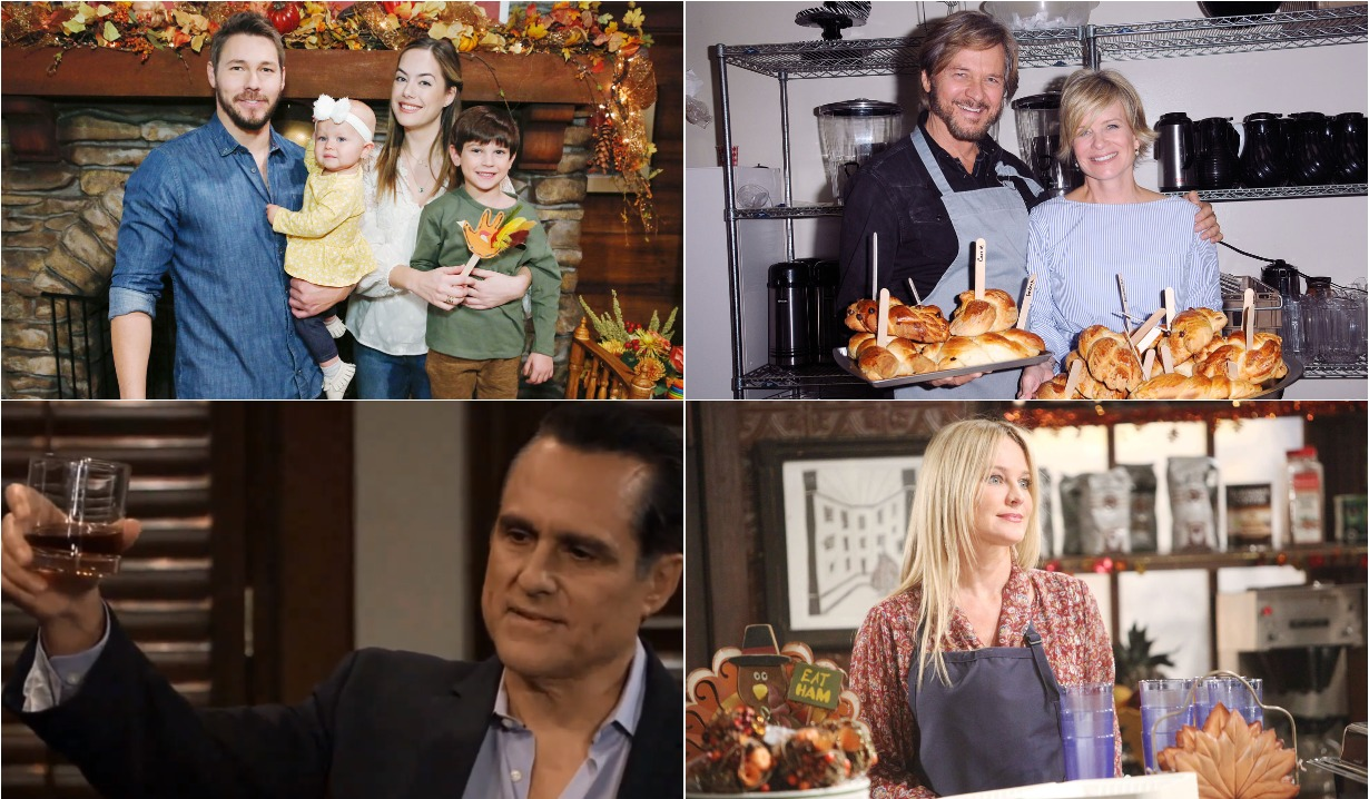 2019 thanksgiving bold and beautiful days of our lives general hospital young and restless