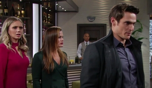 Abby, Chelsea, Adam Young and Restless