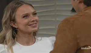Abby smiles at Chance Young and Restless