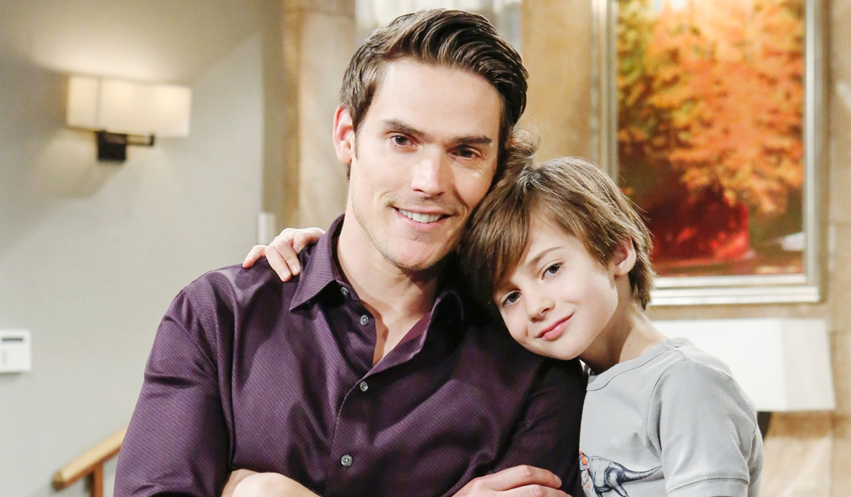 Adam and Connor on Young and Restless