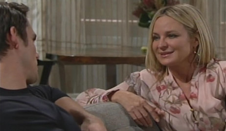 Sharon gives Adam advice Young and Restless