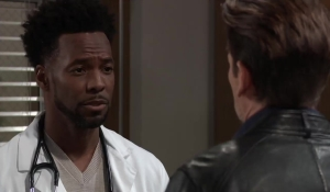 Andre reminds Drew it's not too late General Hospital