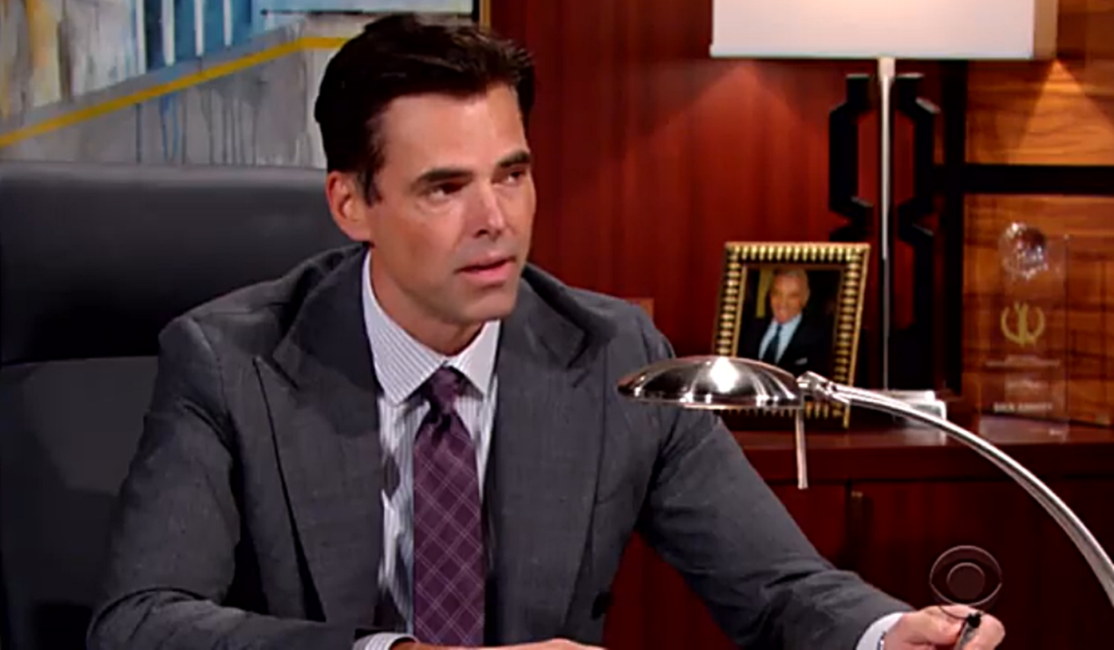 Billy warns Theo's a threat Young and Restless