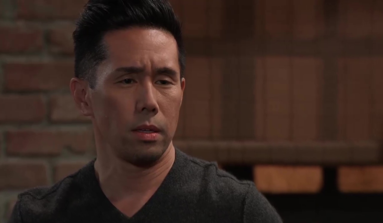 Brad is confronted by Michael General Hospital