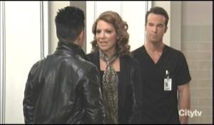 Brad interrupts Lucas and Liesl General Hospital