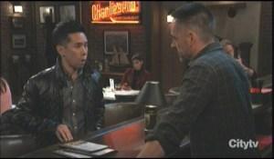 Brad threatens Julian General Hospital