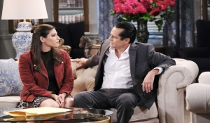 Brook Lynn catches up with Sonny General Hospital
