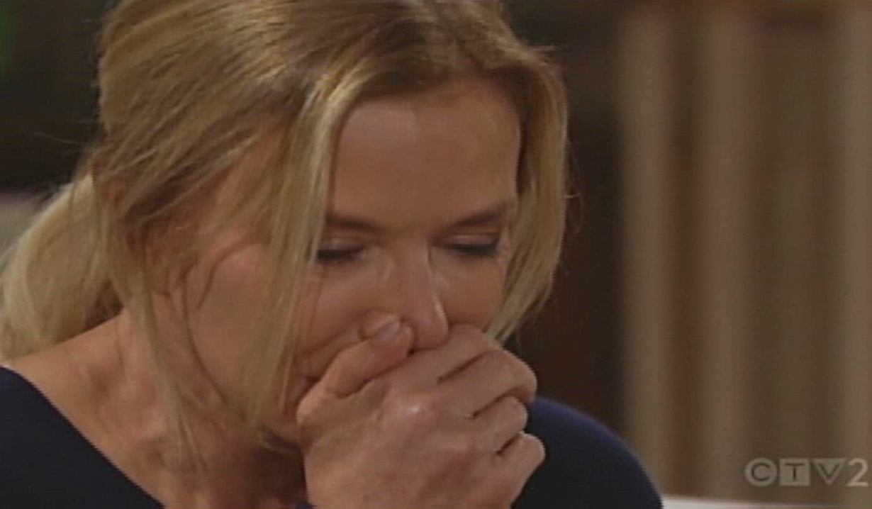 Brooke sobs Bold and Beautiful