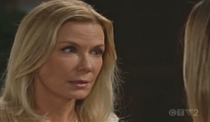 Brooke questions Hope Bold and Beautiful