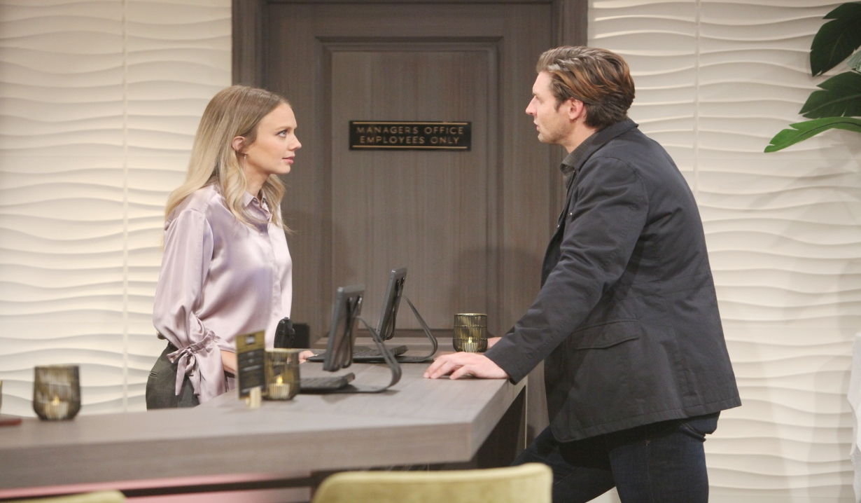 Chance and Abby talk about jewel thief Young and the Restless