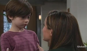 Chelsea calms Connor Young and Restless