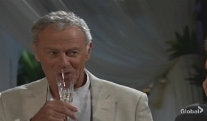 Colin drink Jill Young and Restless