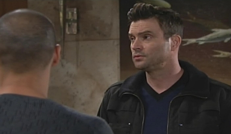 Devon Cane confrontation Young and Restless