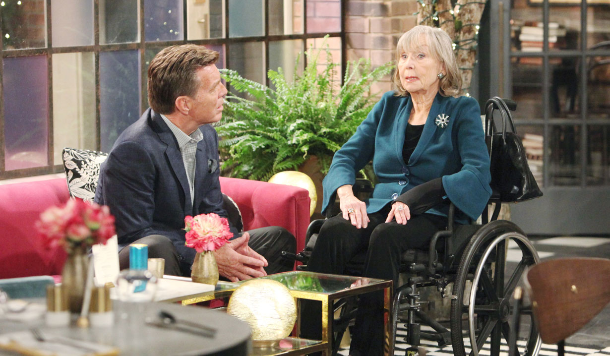 Dina and Jack on Young and the Restless