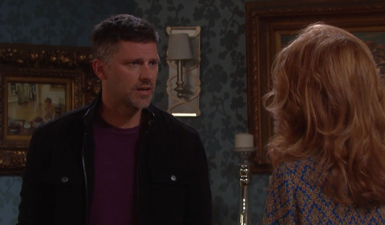 Eric is Mickey's dad on Days of our Lives