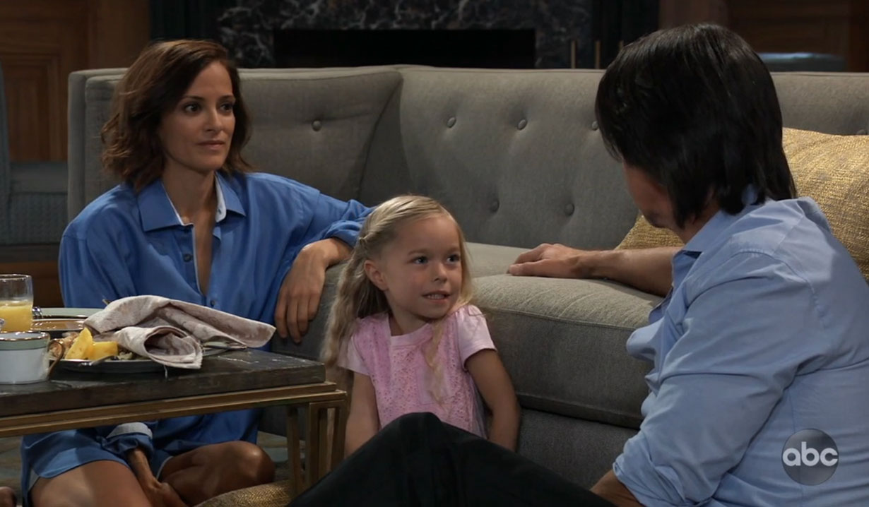 Hayden and Finn tell Violet the truth on General Hospital